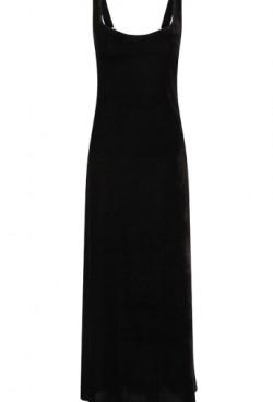 n1266-venus-long-black-velvet-dress-front