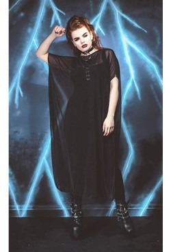 necessary_evil_hecate_mesh_poncho_dress_3