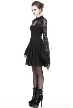 DW210-Dark-In-Love-Black-Lace-Sleeve-Dress-4