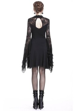 DW210-Dark-In-Love-Black-Lace-Sleeve-Dress-5